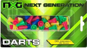 NXG BLOWGUN DARTS 36 PCS