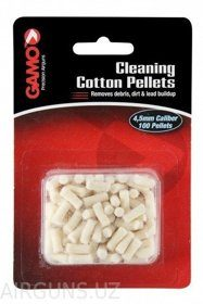 CLEANING COTTON PELLETS