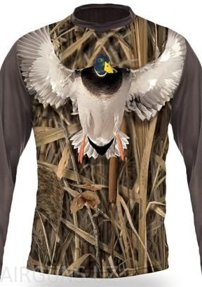 MALLARD 3D T-SHIRT LONG SLEEVE